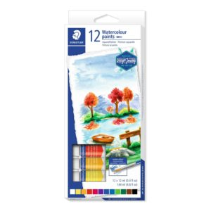 staedtler 8880 watercolour paint 8880 c12